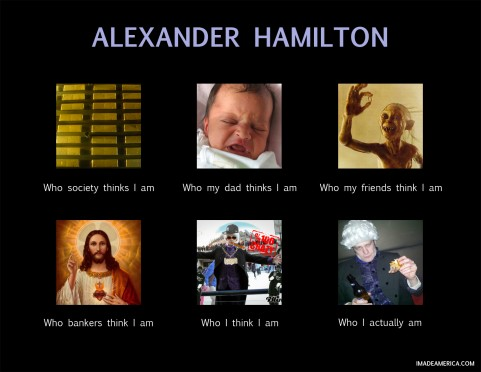 Who I Really Am: Alexander Hamilton