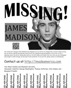Help Find James Madison